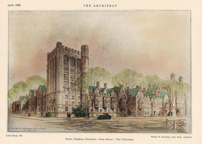 bingham-dormitory-yale-university-new-haven-connecticut-1926-walter-chambers